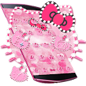 Pink Kitty Diamond Theme icon