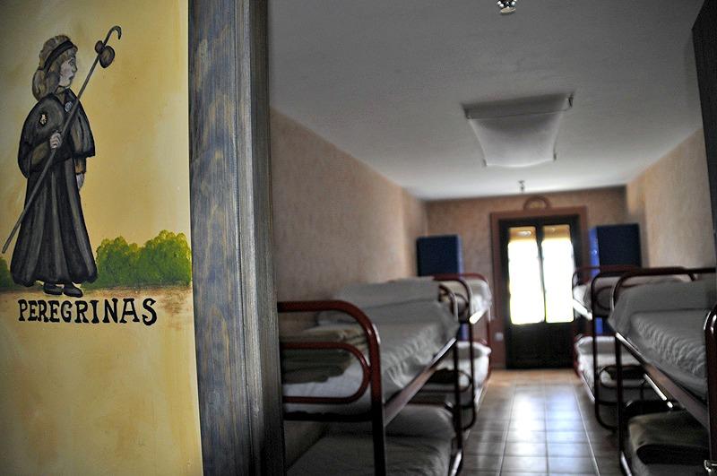 Albergue de peregrinos municipal de Santa Cilia de Jaca, Huesca, Camino Aragonés