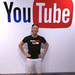 hanging out at YouTube in Toronto, Ontario, Canada