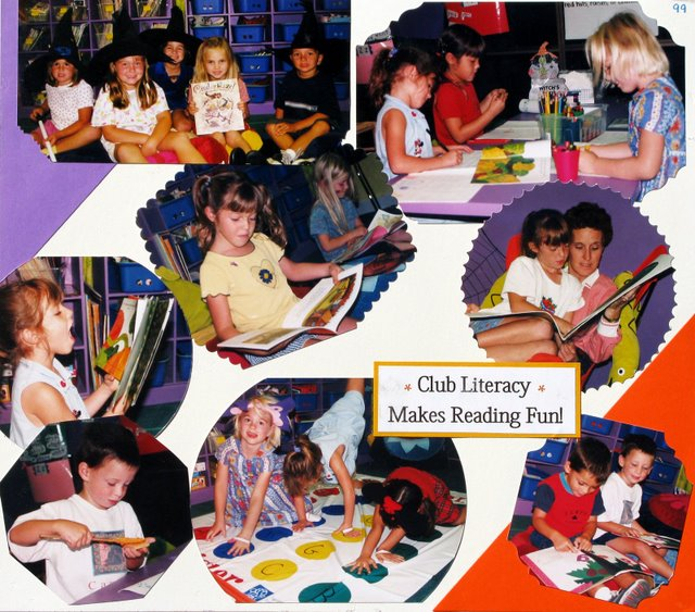 Club Literacy makes reading fun!