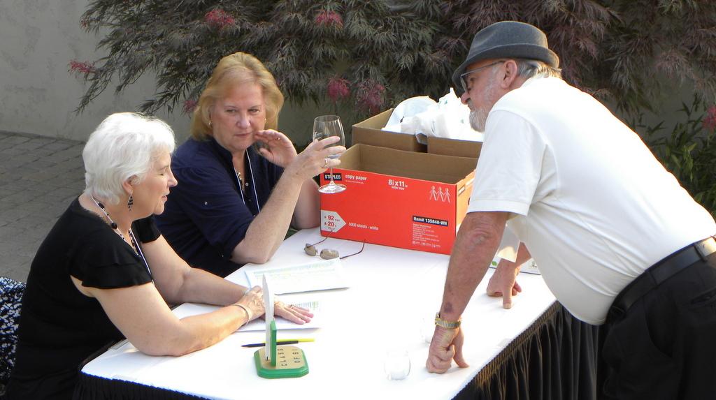 Judy Williams, Colleen Olson, Bill Johnson