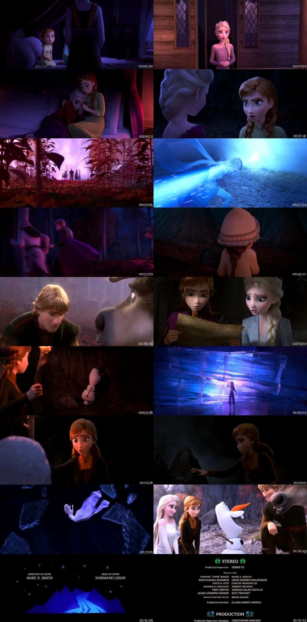 Screen Shot Of Frozen 2 2019 300MB Full Movie Hindi Dubbed Free Download 480P DVDScr Small Size PC Movie