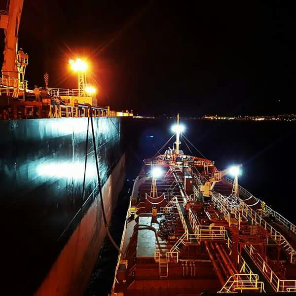 Ship bunkering operations
