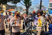 Brigjen Edy Murbowo SIK, M.si Meninjau Dapur Umum TNI-POLRI Peduli Covid-19