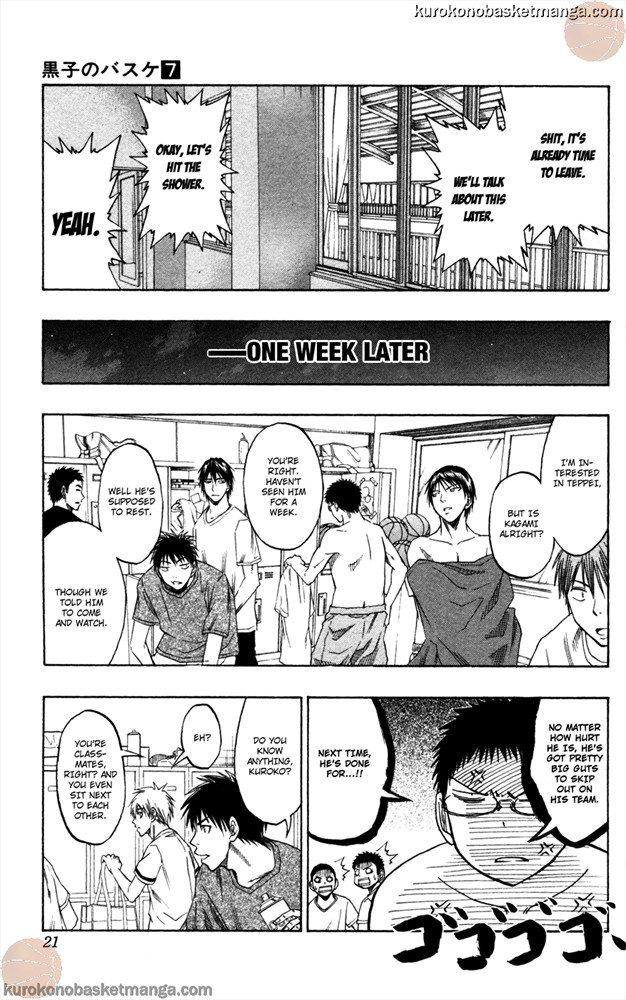 Kuroko no Basket Manga Chapter 53 - Image 0/021