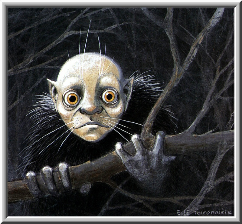 Scary Halloween Creature, Scary Halloween