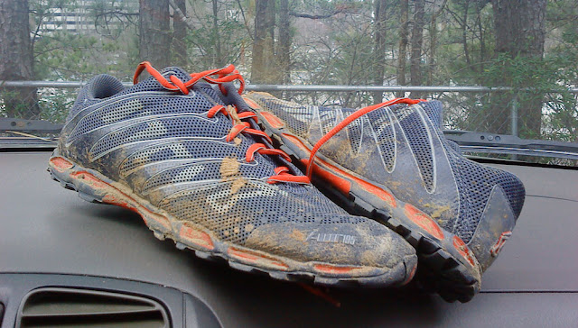 Inov-8 f-lite 195 for the Umstead Trail Marathon 2012