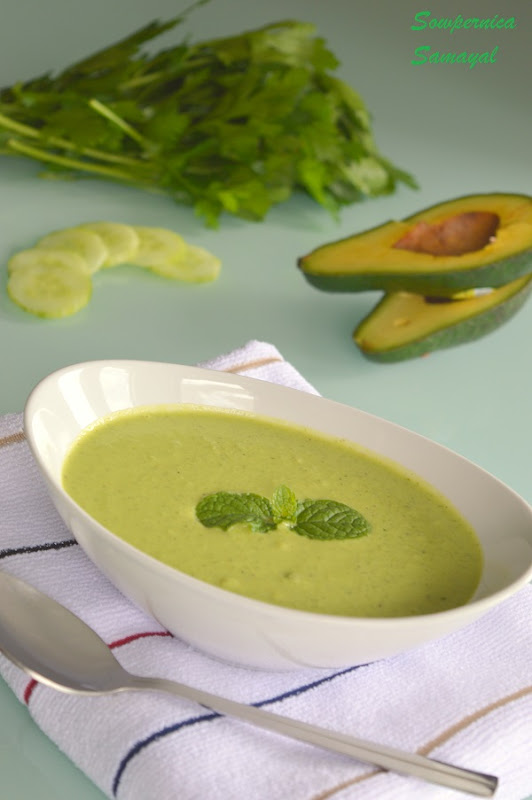Chilled Avacado Soup