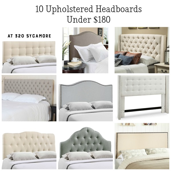beautiful upholstered headboards under     sycamore, Headboard designs