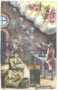 Johann Georg Schmid Der Von Mose U Denen Propheten Ubel Urtheilende Alchymist Chemnitz, Alchemical And Hermetic Emblems 1