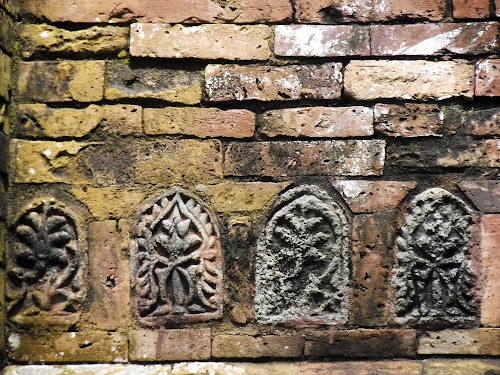 Terracotta on the wall