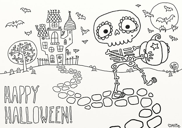 Fun Free Printable Halloween Coloring Pages To Help Keep Little Fingers  Out Of The Candy