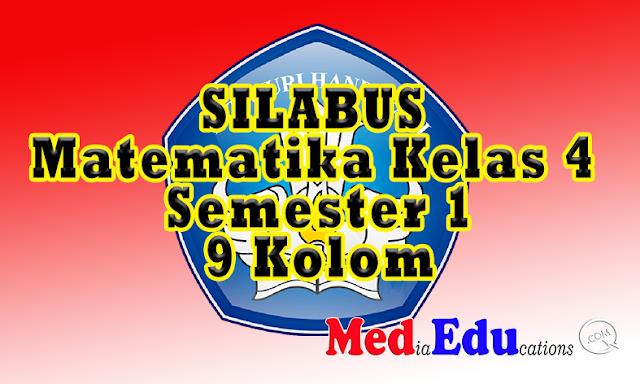Silabus Matematika Kelas 4 Semester 1 Format 9 Kolom