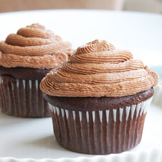 Basic Vegan Chocolate Cupcake
