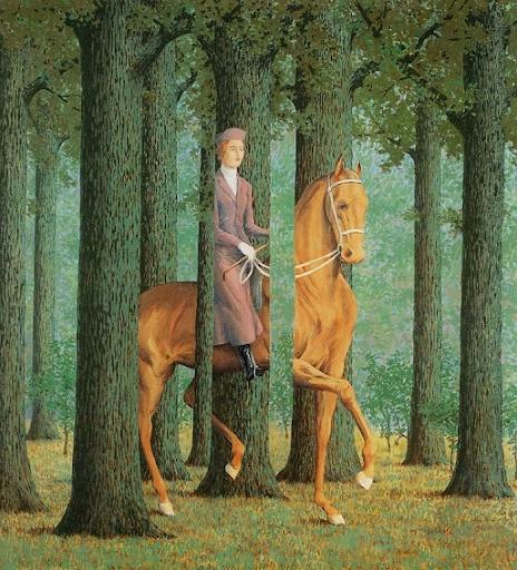 René Magritte, Le Principe d'incertitude, 1944