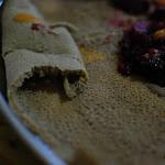 Indżera, typowe danie etiopskie