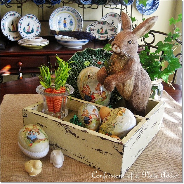 CONFESSIONS OF A PLATE ADDICT Rustic Easter Box