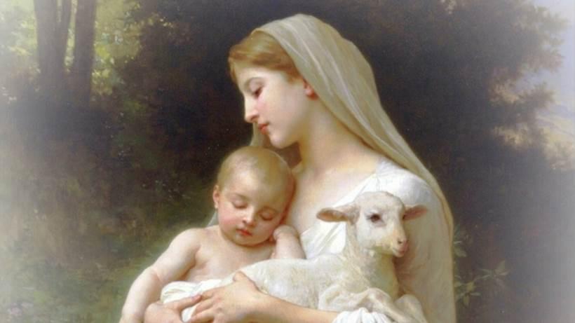 Người Mẹ bồng con