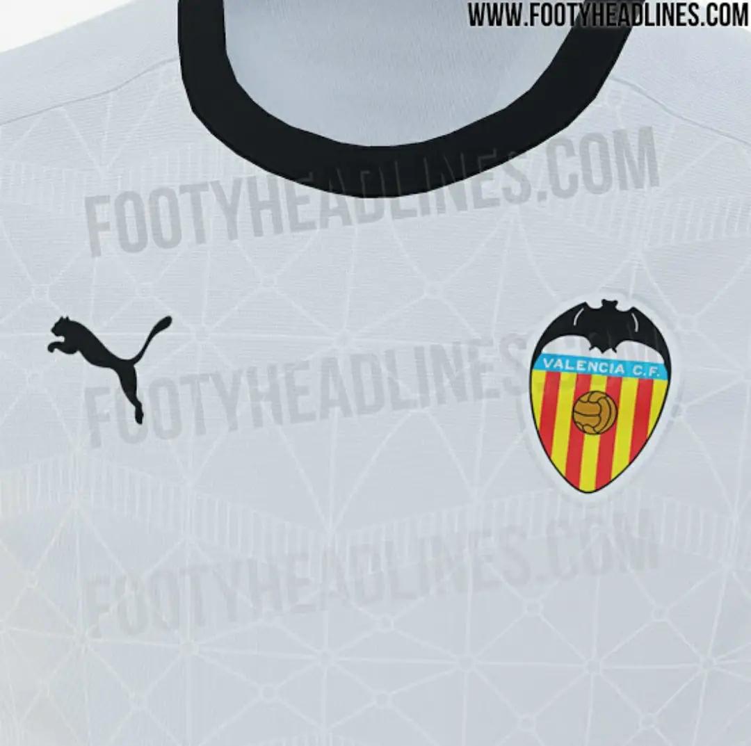 Bocoran Jersey Valencia Musim 2020/2021