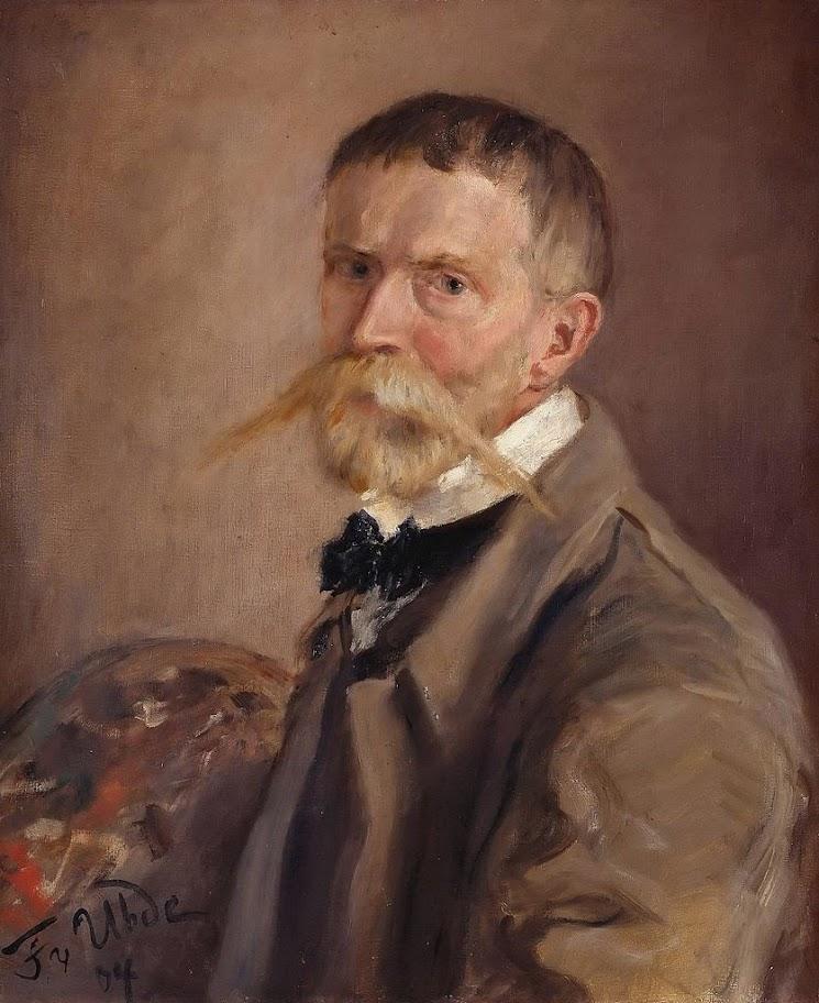 Fritz von Uhde - Selbstbildnis (1904)