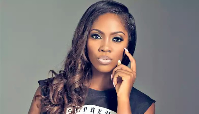 Tiwa Savage Pictured With American Rapper Meek Mill