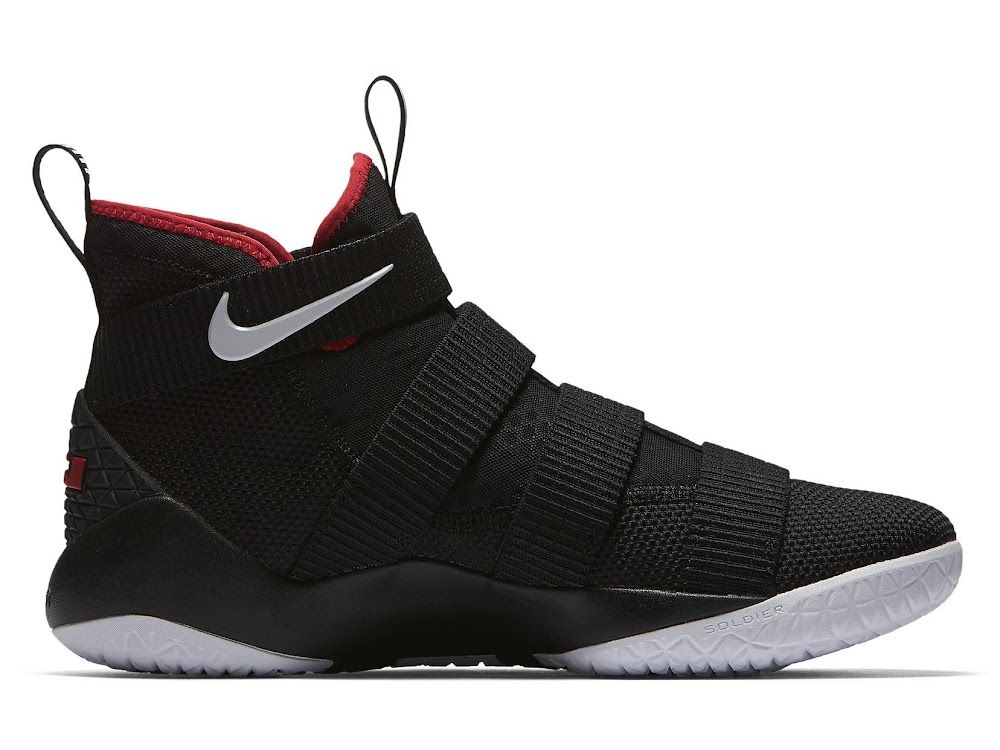f27a4f8c47c ... Available Now Nike LeBron Soldier 11 Black and Red ...
