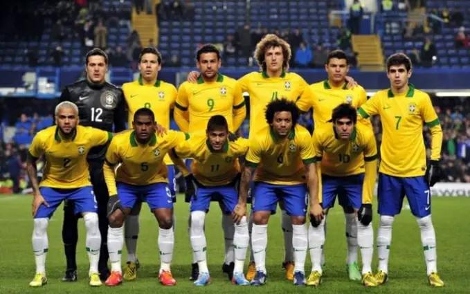 Timnas Brazil menjadi timnas termahal keempat