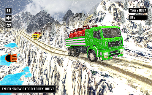 Indian Truck Mountain Drive 3D ss3