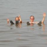 Flotter sans nager: Lac Rose