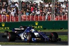 La Sauber nel gran premio d'Australia 2017