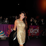 WWW.ENTSIMAGES.COM -  Lizzie Cundy  arriving  at  Cirque Du Soleil: Kooza VIP Royal Albert Hall London January 8th 2013                                                       Photo Mobis Photos/OIC 0203 174 1069