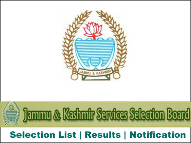 JKSSB Criteria for Selection and Syllabus for Jr. Scale Steno, Jr Assistant, Technical Assistant