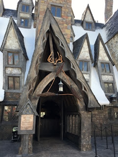 Three Broomsticks!