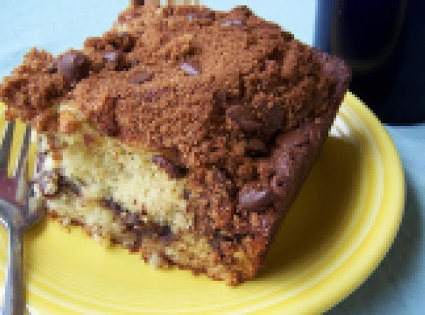 Banana Coffee Cake With Chocolate Chip Streusel Recipe
