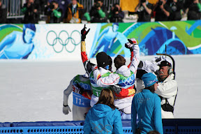 Germany learns they win the silver medal