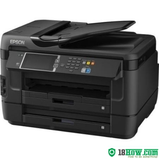 How to Reset Epson WorkForce 42 flashing lights problem
