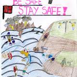Sea safety poster - Rebecca