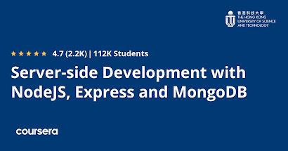 best Coursera course for backend development using NodeJS