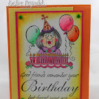 BB0435F Good Friends Remember Additional stamp  from High Hopes