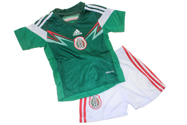 Jual Jersey Bola Anak Mexico Home 2014