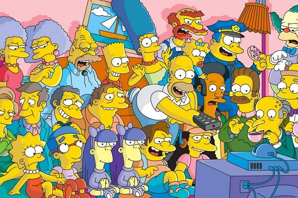 Este es el trabajo detrás de la realización de un capítulo de Los Simpson