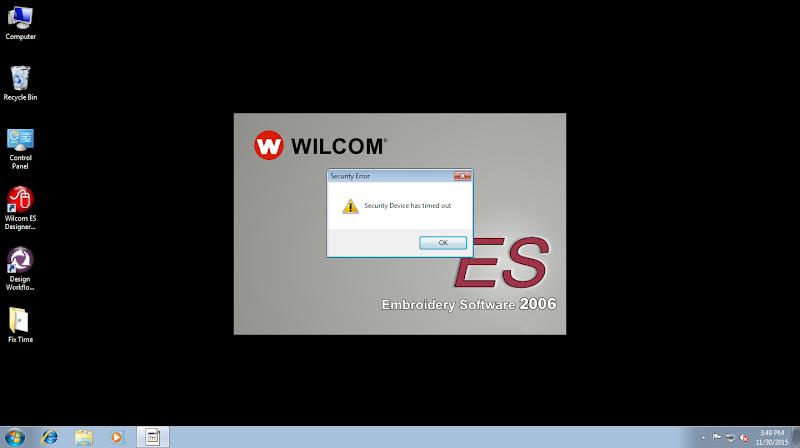 Cách Xử Lý Lỗi Security Device Has Timed Uot Trên Embroidery Software Wilcom 2006 1