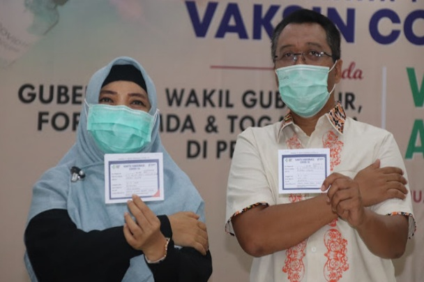 Gubernur NTB : Yakinkan Vaksin Aman dan Halal
