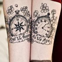 tattoo nos pulsos
