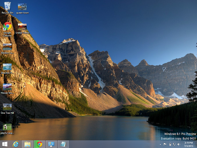 Canada Theme in Windows 8.1