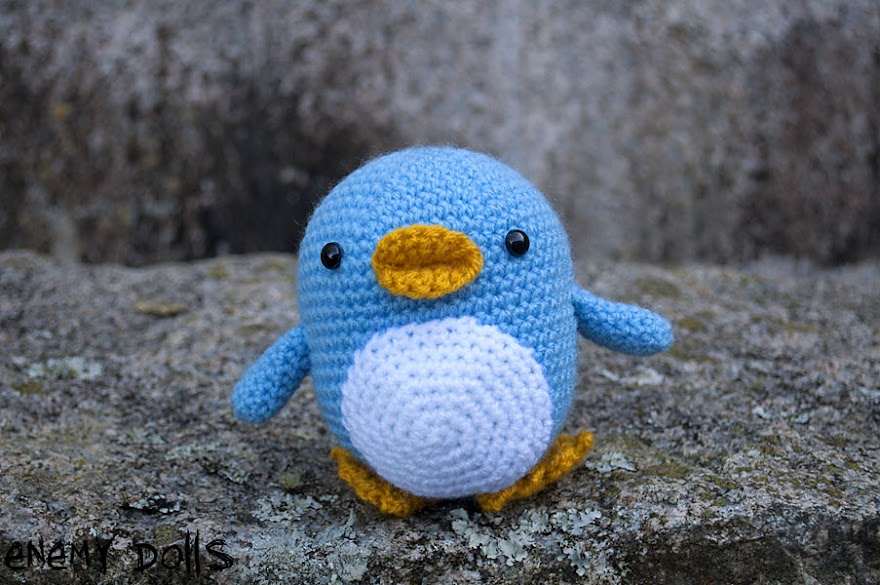 Pingüino amigurumi - Happy penguin amigurumi