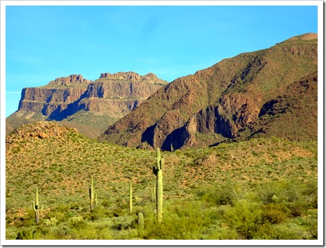 Hieroglyphic Trail, Superstition Mountains