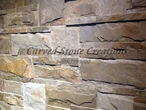 Architecture, Exterior, Mosaic, Veneer, Wall Stone
