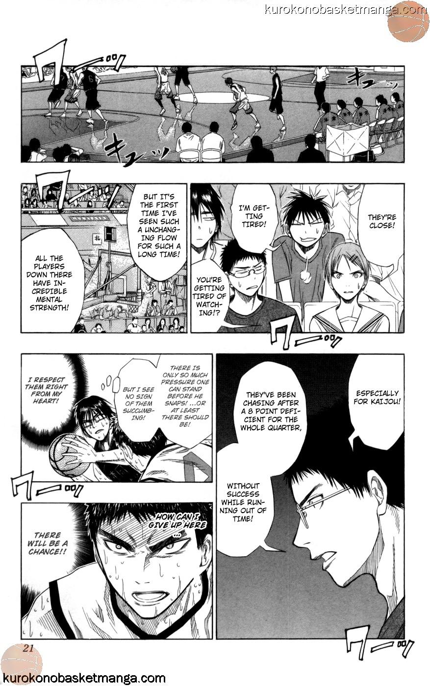 Kuroko no Basket Manga Chapter 71 - Image 18