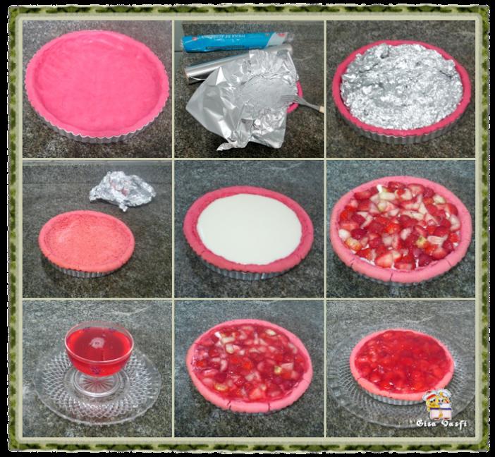 Torta de morango com massa de polvilho 5